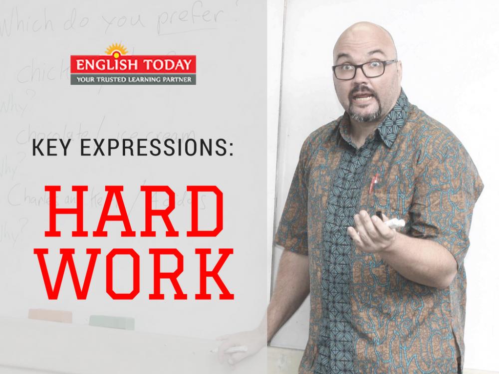 English hard work