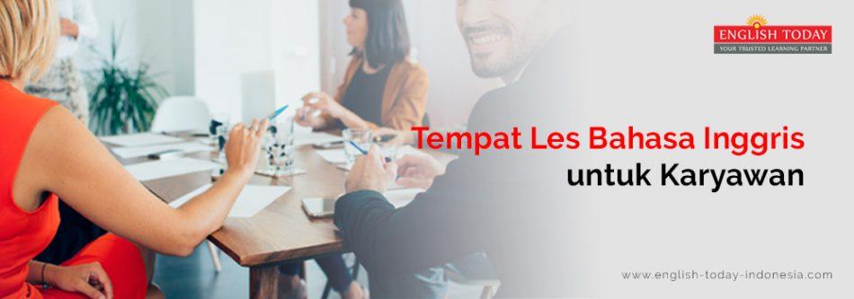 Tempat Les Bahasa Inggris untuk Perusahaan