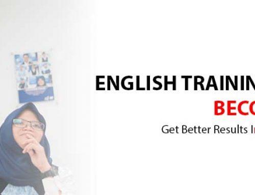 English language training for employees