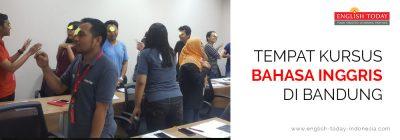 Kursus Bahasa Inggris di Bandung