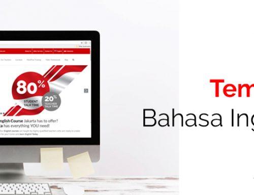 Tempat Belajar Bahasa Inggris Online